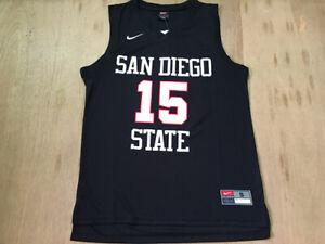 Kawhi Leonard #15 San Diego State College Throwback Basketball | Sizes : S-4XL