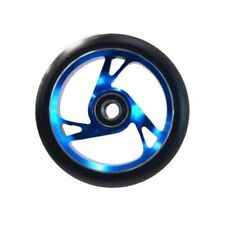 Scooter Wheel Alloy Core 125mm with Abec 9 Bearing BLUE