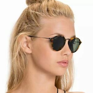 Trendy UV400 Shade Sunglasses Polarized Cat Eye Round Frame Fashion Vintage Uni