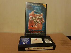 CHOPPING MALL.... VHS Horror.....
