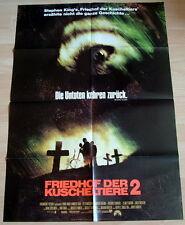 FRIEDHOF DER KUSCHELTIERE 2  original Kino Plakat A1