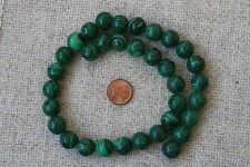 Malaquita (planchas) -strang (Bola 11,5mm) q-5718/G