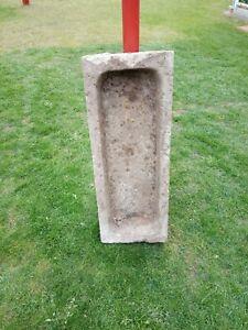 "Sandsteintrog Schweinetrog ""Rot"" 1,00 m Alt Antik Nostalgie Nr.1.1gerne Versand"