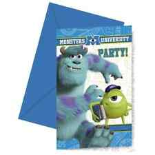 Monsters University Party Invitations (Pack of 6)