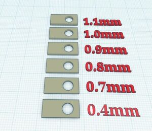 PARD NV008 NV 008 LRF Plus Reticle Adjustment Shim Set