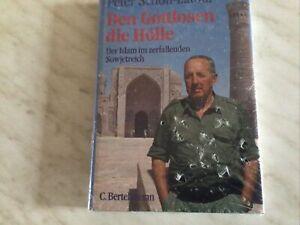 Buch Den Gottlosen die Hölle von Peter Scholl-Latour Ungelesen Noch Verpackt