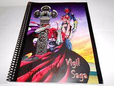 VIGIL SAGA guide to the lifeworks of JOE and TIM Vigil raw comics 2006 limited
