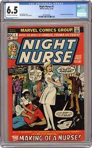 Night Nurse #1 CGC 6.5 1972 2070476005