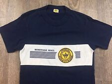 Vintage 80s Heritage Hall Chargers Oklahoma High School Velva Sheen t-shirt M/XS
