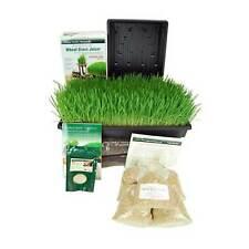 ORGANIC BARLEY GRASS GROWING KIT W/ HURRICANE BARLEYGRASS JUICE MACHINE