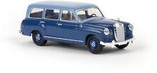 MB 180 Familiar Azul Claro / azul oscuro, H0 Auto Modelo 1:87 , Brekina 13465