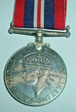 MEDALS-ORIGINAL WW2 BRITISH WAR MEDAL SILVER CANADIAN ISSUE