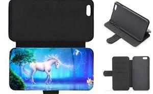 UNICORN Mythical Wallet Flip Phone Case iPhone 4 5 6 7 8 9 10 X comp Galaxy (C)