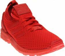 Adidas Men ZX Flux Primeknit torsion red S76497 size 10.5