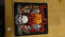 Snap-on Tools Official chrome motor skull tried proven true new decal sticker.