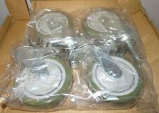 "4 Olympic Storage Company Metro Rack 5"" Swiveling Wheels-new"