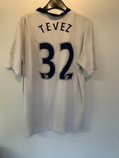 Vintage Man Utd  Tevez Away Shirt  2009-10 XL