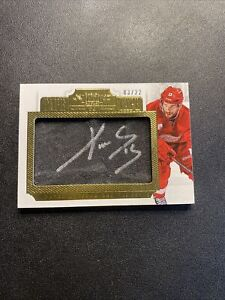 2013-14 Dominion Pavel Datsyuk Game Used Tape to Tape Autograph /22 🔥🔥🔥