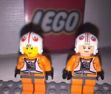 100% Lego Star Wars Rebel Snowspeeder 4500 8129 complete Luke Mini Figure X2