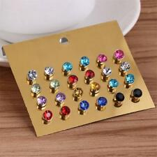 12 Pair No Piercing Clip On Magnetic Magnet Charm Ear Studs Mens Womens Gifts