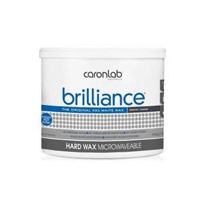 Caronlab Brilliance Hard Hot Wax Microwaveable 400g Waxing Hair Removal