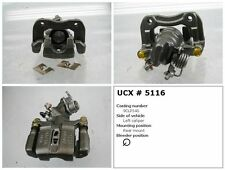 Undercar Express 10-5116S Rr Left Rebuilt Brake Caliper With Hardware