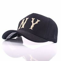 76f7e7511e5 New Era 9FORTY  Cooperstown  New York Yankees Black Curved Peak Adjustable  Cap