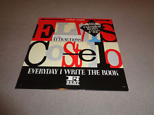 """Elvis Costello and The Attractions – Everyday I Write the Book - F-Beat 12"""" 45"""