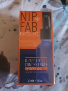 Nip and Fab Exfoliate Glycolic Fix Concentrate Extreme 10%,Sealed