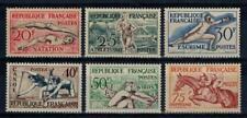(a10)  timbres de France n° 960/965 neufs** année 1953