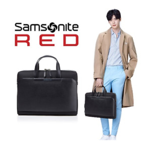 SAMSONITE RED Brief Case Smart Man 2 with Free Gift Free Standard Shipping