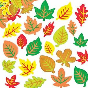 New Leaf Foam Stickers *Craft Projects*School Projects* X 20