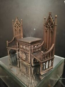 Dolls House TUDOR FURNITURE ooak