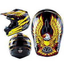 Troy Lee Designs SE3 Adult XS Flight Black Yellow MX Helmet TLD Motocross    SE4