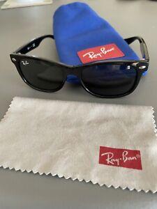 Kids Ray-Ban Junior Wayfarer Sunglasses (RJ9052S) 47mm 4-8 Yrs Black