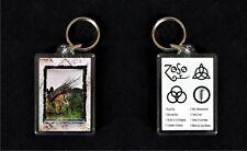 Led Zeppelin 4 - Acrylic keyfob