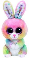 TY 37212Glub Schi's Beanie Boo's Bubby Rabbit with Glitter Eyes 15cm