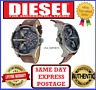 Diesel DZ7314 Mr.Daddy 2.0 mens Brown Leather Chronograph Wrist Watch