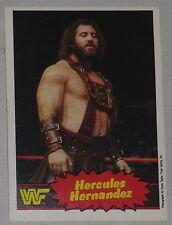 Hercules Hernandez WWF 1985 Topps O-Pee-Chee OPC Card #24 WWE Wrestling Legend