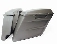 4' DEVIL EXTENDED STRETCHED SADDLEBAGS, LIDS 4 HARLEY 95-13