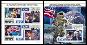 Niger 2021 Apollo lunar landing. President Kennedy. (339)