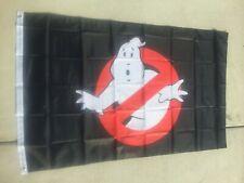 Ghostbusters Logo Black 3x5 Ft Flag Banner
