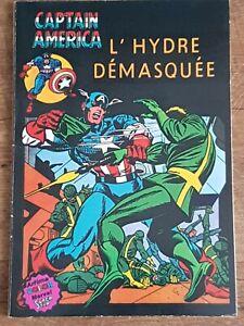 """CAPTAIN AMERICA """"L'HYDRE DÉMASQUÉE"""" Et Le Faucon French comic book Marvel"""