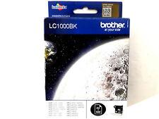 BROTHER LC 1000 BK Black Noir Schwarz Nero CARTOUCHE ORIGINAL GENUINE