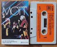 MOTT THE HOOPLE - LIVE (CBS 40-69093) 1974 UK CASSETTE TAPE VG+ COND BOWIE