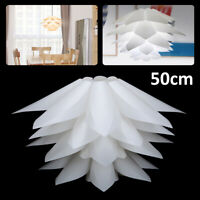 Lotus Light 50 CM DIY IQ Puzzle Jigsaw Pendant Light Shade Ceiling Lampshade UK