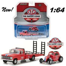 GREENLIGHT 33100 C STP 1968 FORD F-350 RAMP TRUCK & TOPO ALTERED DIECAST 1:64