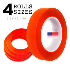 4 Pcs Red Adhesive Extra Sticky Tape for iPhone iPad iPod Repair 2 3 5 10 Mm Lot