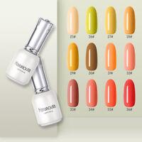 12ml Soak Off UV Gel Nail Polish Orange Color Gel Nails  Nail Art Salon
