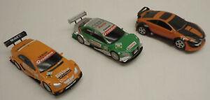 3 SCX 1/43 Mercedes AMG Audi A4 DTM Toyota Slot Car Lot